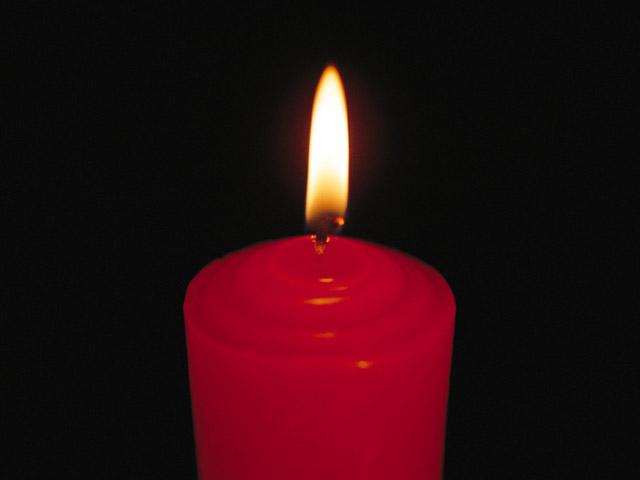 Kerze Für Verstorbenen